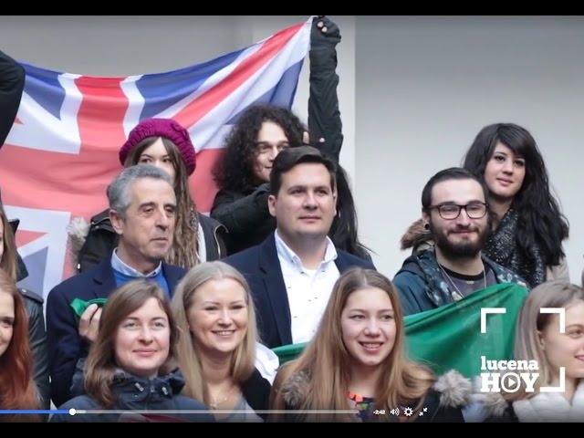 VÍDEO: Un intercambio internacional agrupa en Lucena a 40 jóvenes de nueve países europeos