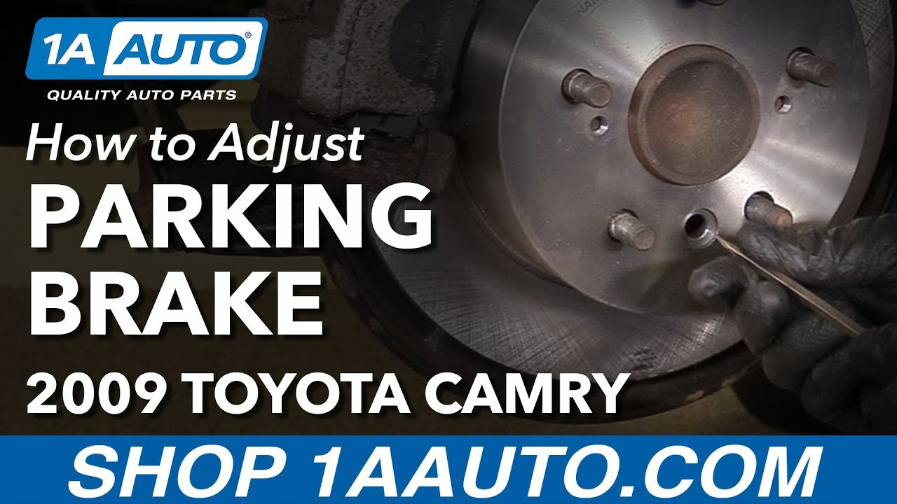 How To Adjust Parking Brake 06 11 Toyota Camry