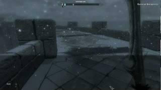 Как убрать квадратики в игре Skyrime 5
