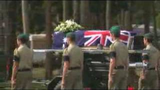 Soldier farewelled at funeral