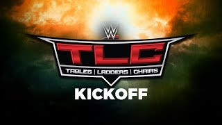 Video WWE TLC: Tables, Ladders and Chairs Kickoff: Oct. 22, 2017 download MP3, 3GP, MP4, WEBM, AVI, FLV November 2017