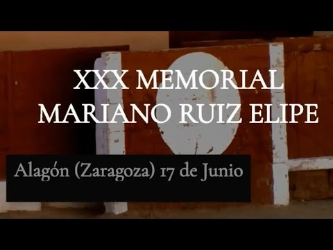 XXX Memorial Mariano Ruiz Elipe  Alagón (Zaragoza) 2018 thumbnail
