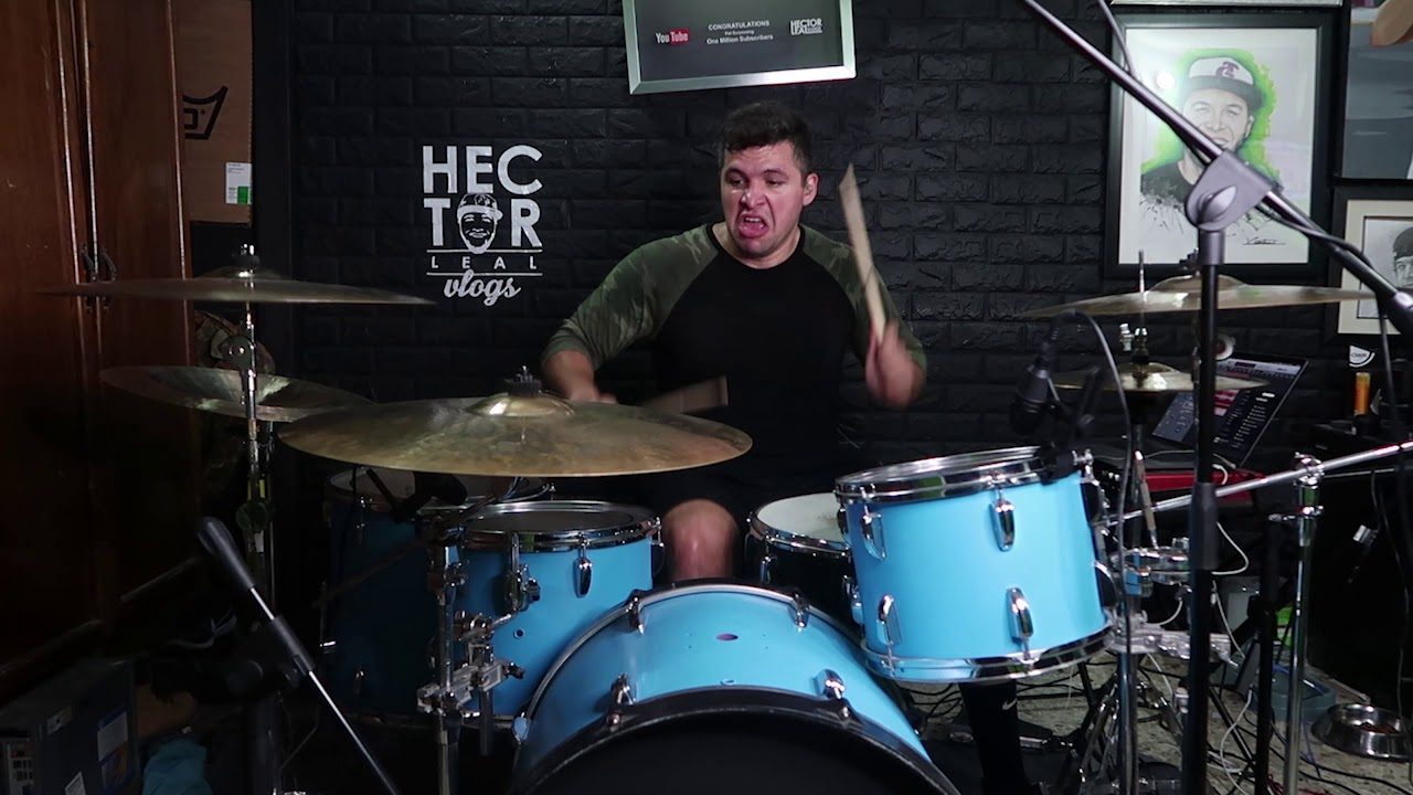 Daddy Yankee - Que Tire Pa' 'Lante (DRUM COVER) HECTOR LEAL