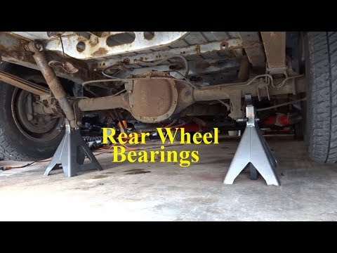 Changing Rear Wheel Bearings Astro Safari