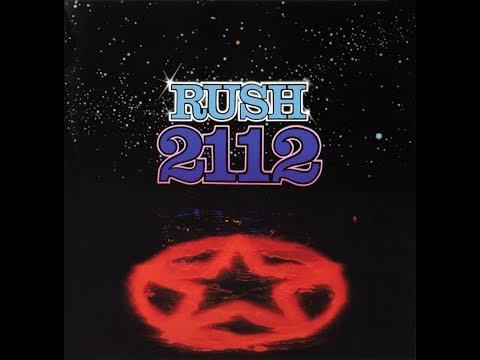 Rush  2112 Full Album, 1976 HD