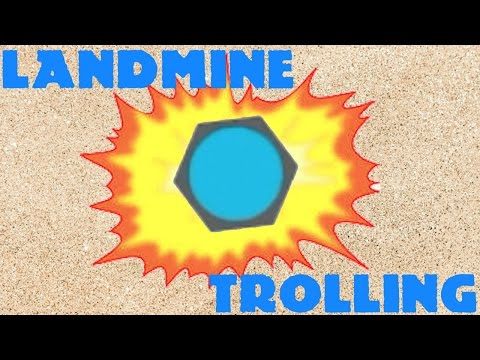EPIC LANDMINE TROLLING!! // Diep.io Funny Moments (Diep.io Update)