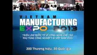 Vietnam Manufacturing Expo 2013 TV Commercial