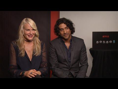 Daryl Hannah & Naveen Andrews Interview: Sense8