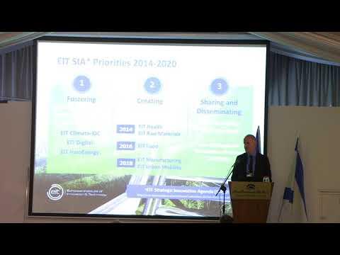 EIT Awareness Day Israel 04.07.2017-EIT Interim Director Martin Kern