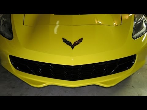 2014 Corvette DIY Bumper Cover and Grille Removal Video - YouTube