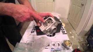 Unboxing YZ125 Athena Top End Rebuild  KIt