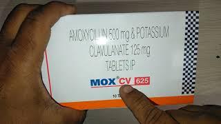 MOX CV 625 Tablets review मोक्स सीवी 625 टैबलेट के बारे में पूरी जानकारी हिंदी में...!