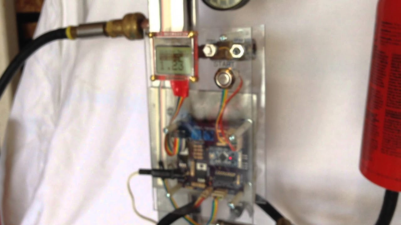 Arduino Fuel Injector Tester