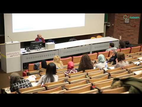 Infosessie islam op de universiteit Hasselt - Sabri Chebil