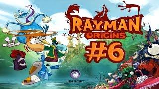 Прохождение Игры Rayman Origins - Толстозадые Приключения #6