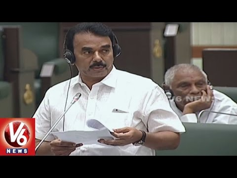 Question Hour : Opposition Requests Govt. To Implement Rurban Mission   TS Assembly   V6 News