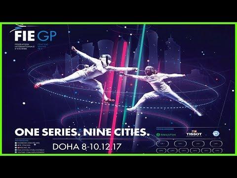Men & Women Epee Grand Prix Doha 2017 - Piste Green