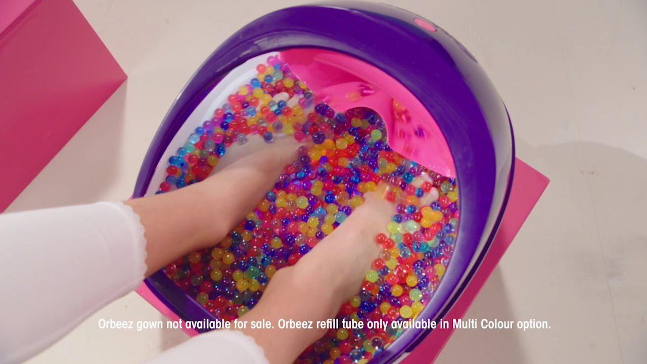how to clean orbeez foot spa