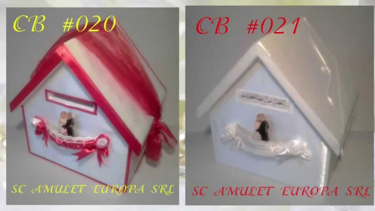 WEDDING CARD BOXES! Домик для денег и открыток на свадьбу (казна молодоженов)