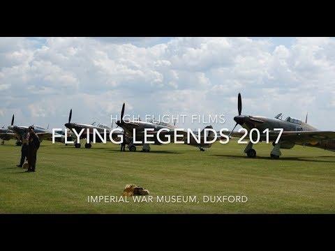 Flying Legends 2017 - Sundays full show