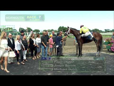 video thumbnail for MONMOUTH PARK 8-17-19 RACE 7