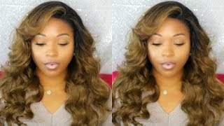 Watch Me Install & Slay This Blonde Lace Front Wig | RPG Hair | Brazilian Virgin Hair