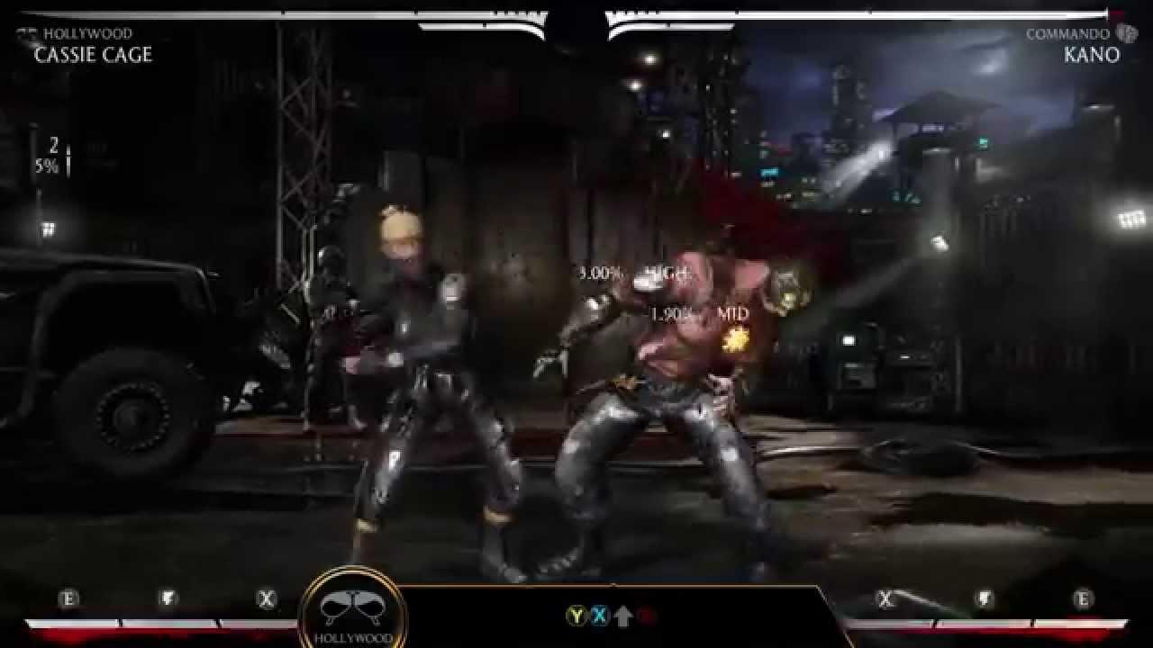 Mortal Kombat X: Kombat Klass - Cassie Cage