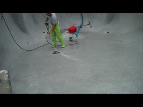 Polishing A Pool Finish