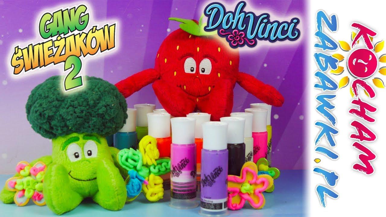 Gang Świeżaków Juniorki • Kreatywna Truskaweczka Tosia • Doh Vinci • Bajki i kreatywne zabawki