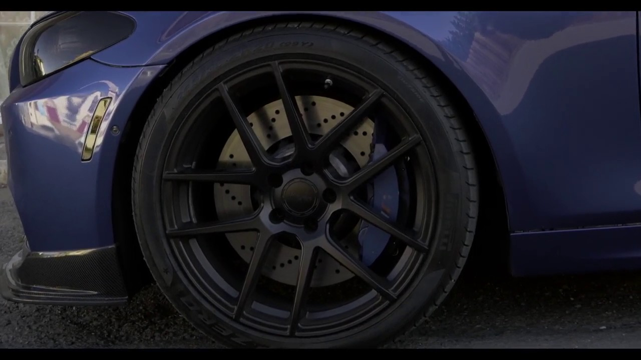 Bmw F10 M5 On Velgen Wheels Vmb5 Concave 20 Inch Youtube