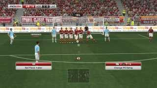 PES 2014 - Lazio vs Roma Gameplay PC