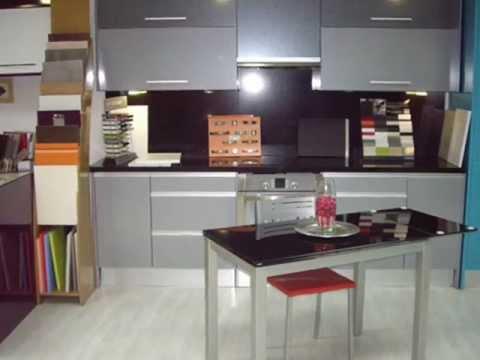 Increibles cocinas baratas en madrid muebles anser youtube for Ver muebles de cocina