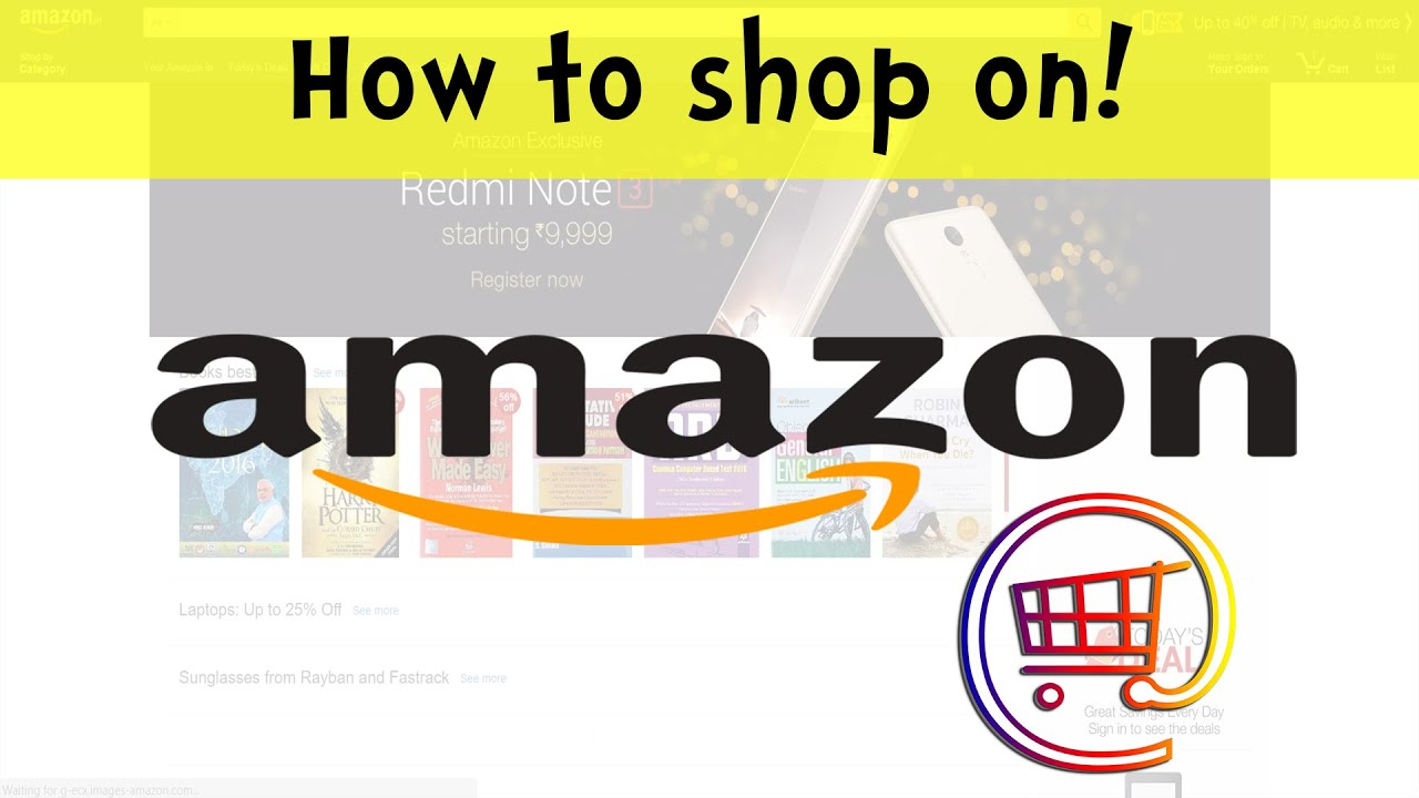 How to Buy on Amazon