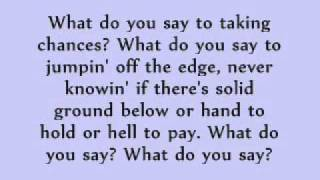 Celine Dion- Taking Chances lyrics