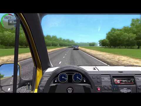 Видео Симулятор вождения автомобиля онлайн с рулем