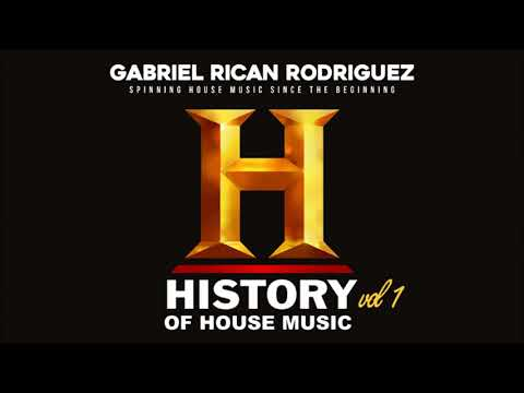 """Chicago """"History of House Music #1"""" Mix by Gabriel Rican Rodriguez #HOUSEMUSIC #WBMX #WGCI"""