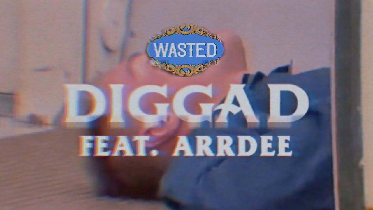 Download Digga D ft ArrDee - Wasted (Visualizer)