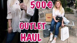 500€ Outlet shopping + Haul ! I Meggyxoxo