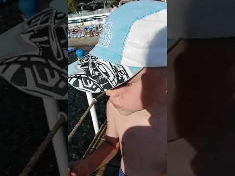 Кормление рыбок - пяткоедок
