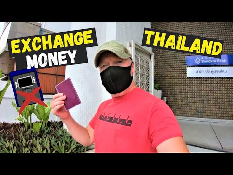 Exchange Money in Thailand Like This & Avoid ATM Fees