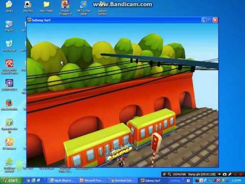 Hướng Dẫn Tải Game Subway Surf Cho Máy Tính Không Cần Bộ Giả Lập Android+Chữa Lỗi đứng Sơn Cho Pc