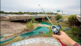 Highway Creek Fishing Challenge -- Urban Bass Action