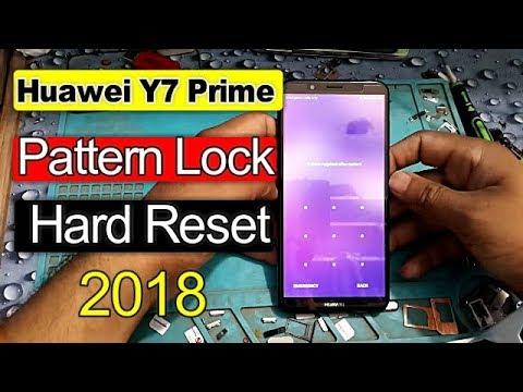 Huawei Y7 Prime 2018 LDN L21 Pattern lock & hard reset Easy Method