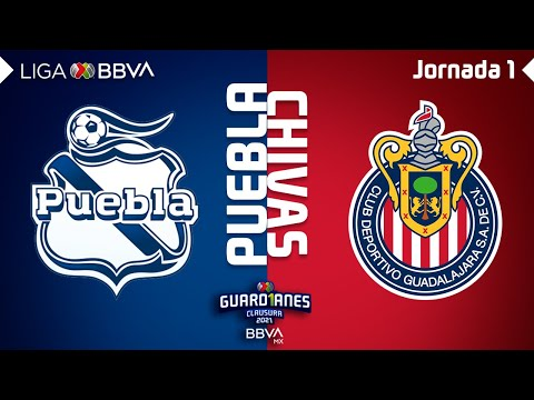 Puebla Guadalajara Chivas Goals And Highlights