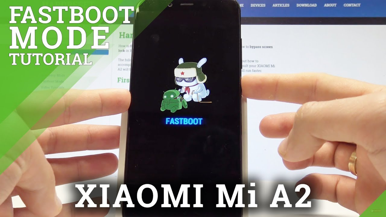 How to Enable Fastboot Mode in XIAOMI Mi A2 - Exit Fastboot Mode