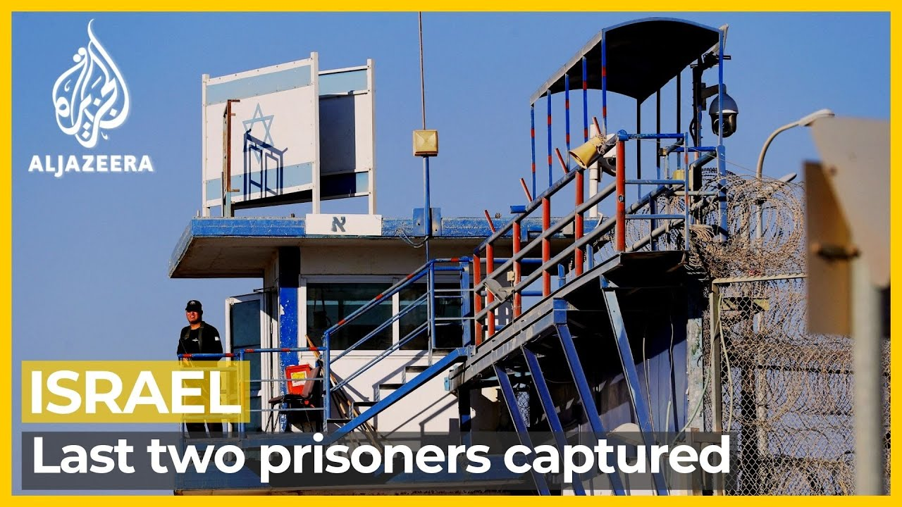 Last two escaped Palestinian prisoners surrender to Israel forces