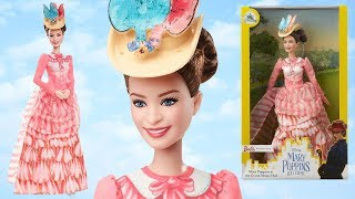 Mary Poppins Returns Doll by Barbie For Disney Store (Grand Music Hall) Unboxing