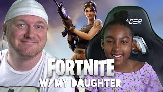 My 8 YEAR OLD teaches me how to play FORTNITE!