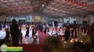 Nghi thức lễ dâng đăng Vu Lan Báo Hiếu - 12/07/2017 AL tại Chùa Khai Nguyên