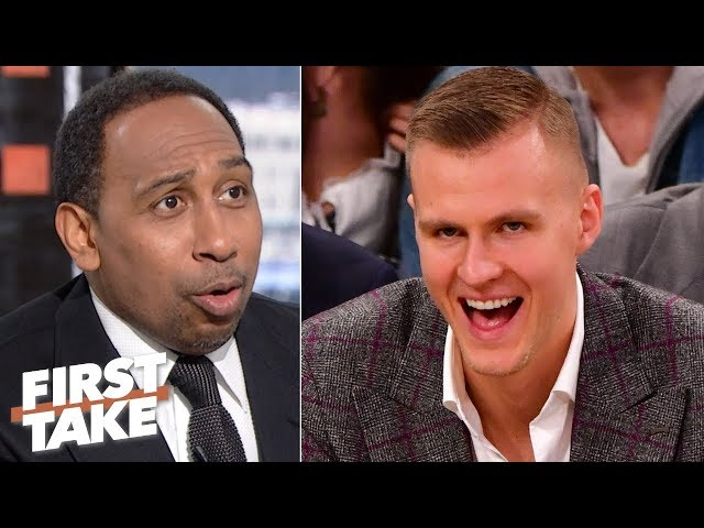 The Knicks wont regret trading Kristaps Porzingis, they had no choice! - Stephen A. | First Take